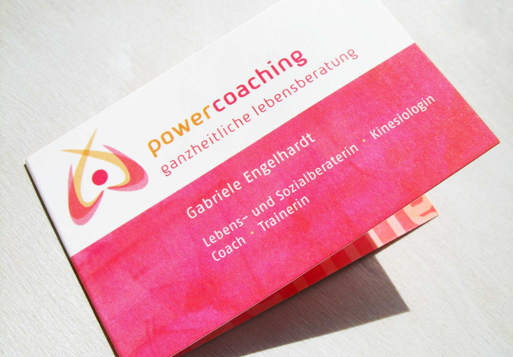 Visitenkarte power coaching