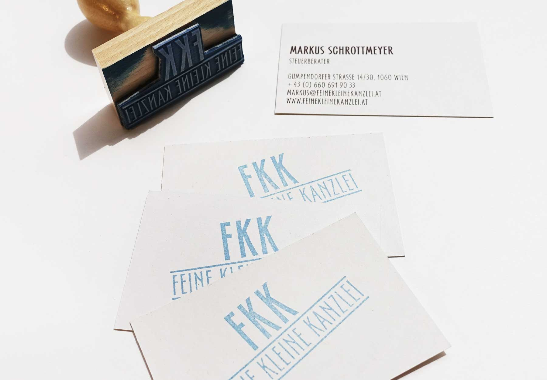 Feine Kleine Kanzlei, Business Card
